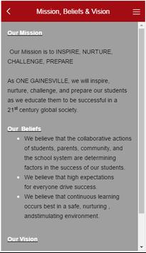 Gainesville Middle School screenshot 1