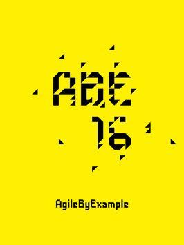 AgileByExample 2016 poster