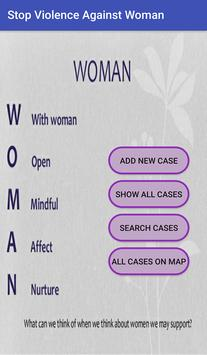 Stop Violence Against Woman poster