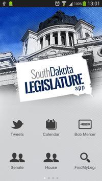 South Dakota Legislature & Gov poster