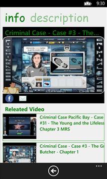 Criminal Guide Case screenshot 1