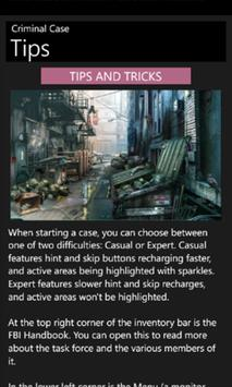 Criminal Guide Case screenshot 2