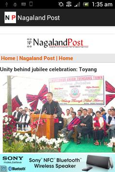Nagaland Post screenshot 1