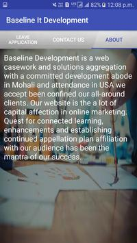 Baseline it development screenshot 4