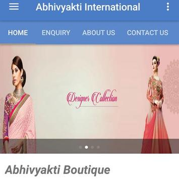 Abhivyakti International apk screenshot
