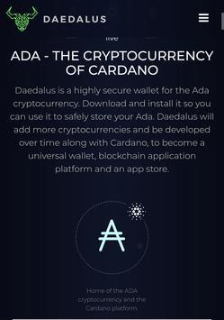 Daedalus ada coin original wallet apk screenshot