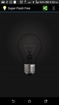 Super Bright Flashlight Torch apk screenshot