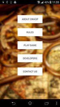 OWASP Treasure Hunt poster