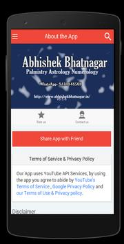 Palmistry  Abhishek Bhatnagar screenshot 3