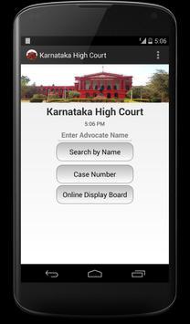 Karnataka High Court poster