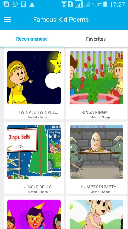 Famous Poems and Rhymes for kids for Android - APK Download