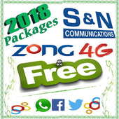 All Packages For Zong icon