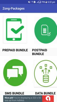 All Packages For Zong poster
