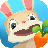 Jungle bunny run icon