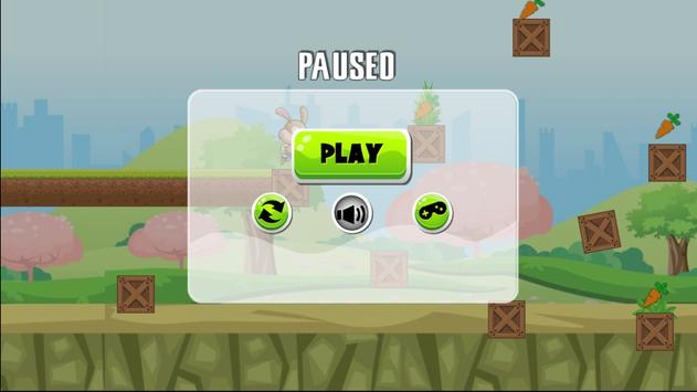 Jungle bunny run apk screenshot
