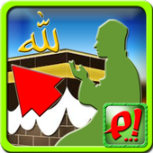 Qibla and Prayer Time icon