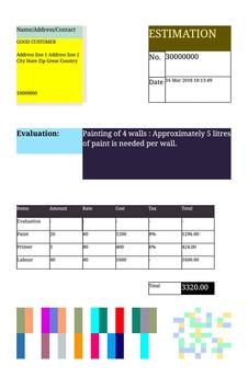 Design template for business, Invoice & Accounting screenshot 5