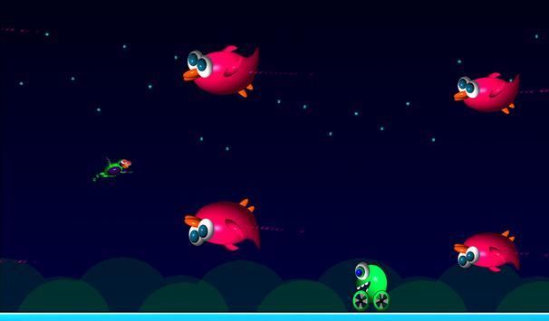 Alien Bird Rush Lite screenshot 3