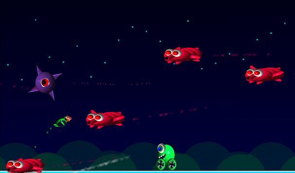 Alien Bird Rush Lite screenshot 1