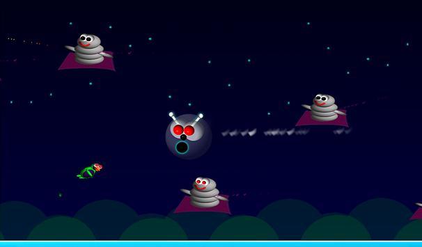 Alien Bird Rush Lite screenshot 2