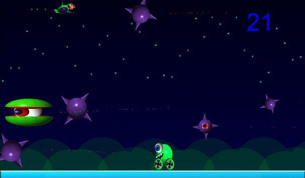 Alien Bird Rush Lite screenshot 4