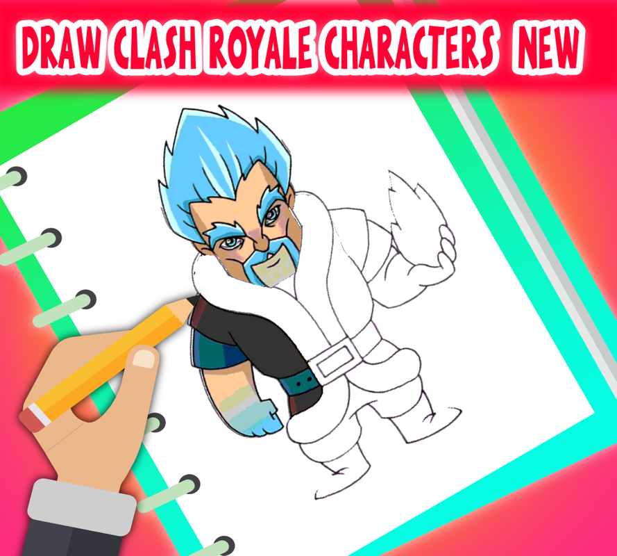 Cómo Dibujar Personajes Clash Royale For Android Apk Download