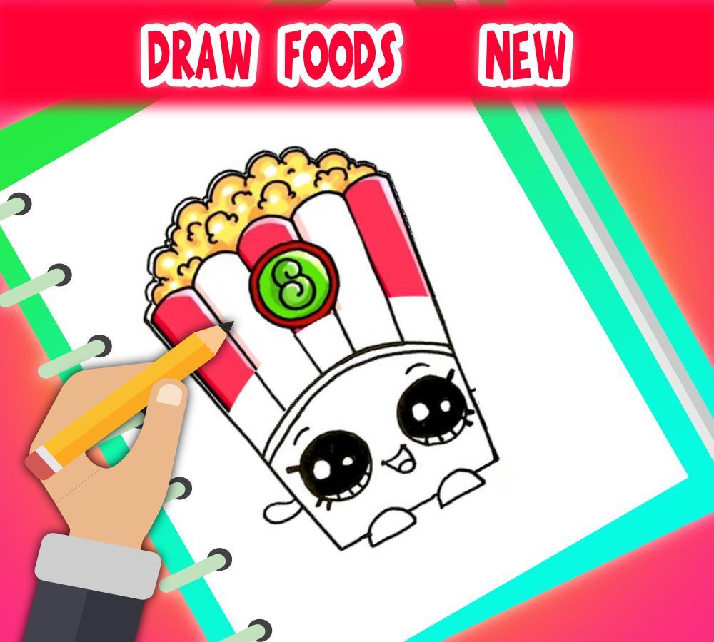 Cara Menggambar Makanan Dengan Mudah For Android Apk Download