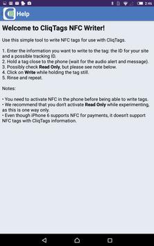 CliqTags NFC Writer for Android - APK Download