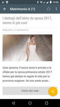 Abiti da sposa Italia apk screenshot