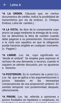 Spanish Legal Dictionary screenshot 5