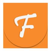 Flat Orange Theme icon