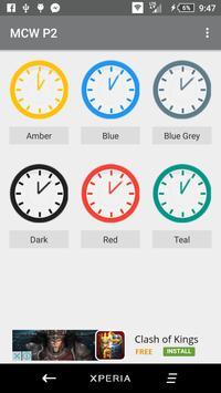 Material Clock Widgets - P2 apk screenshot