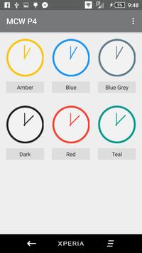 Material Clock Widgets - P4 apk screenshot