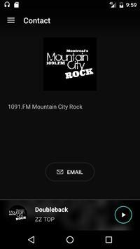 1091.FM Mountain City Rock apk screenshot