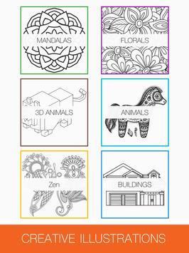 Colorme Adult Coloring Book Apk Screenshot