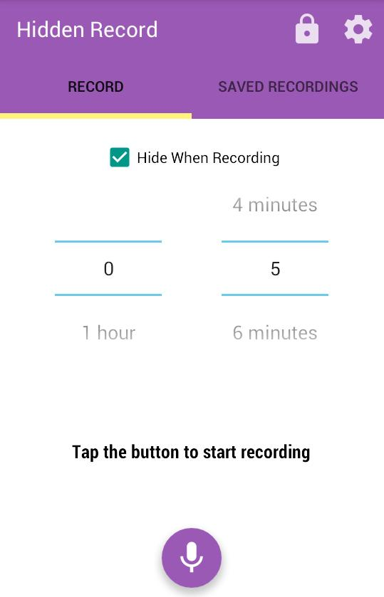 Hidden Record for Android - APK Download