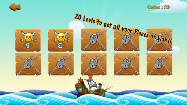 Pirates captura de pantalla 2