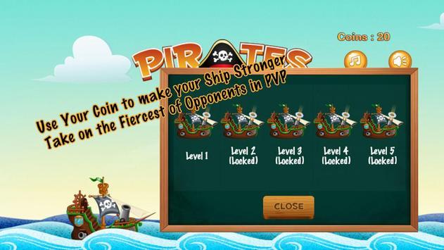 Pirates captura de pantalla 3
