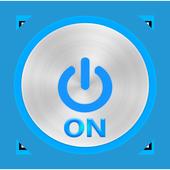 Power Flashlight LED icon