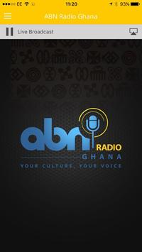 ABN RADIO GHANA poster