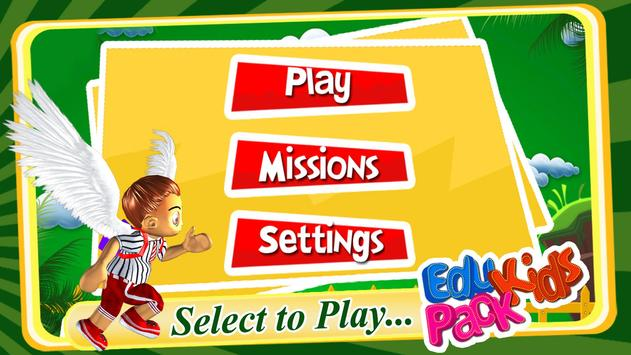 Kids English Learning Game poster