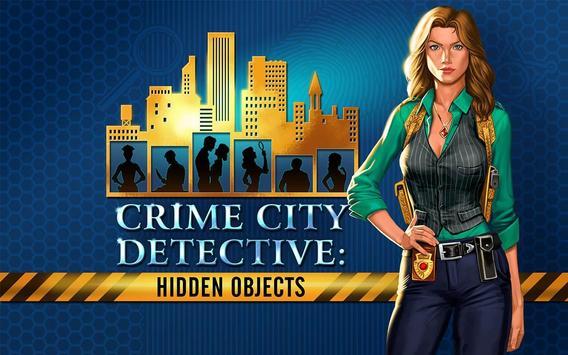 🔎 Crime City Detective: Hidden Object Adventure apk screenshot