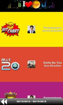 MYX Charts screenshot 1