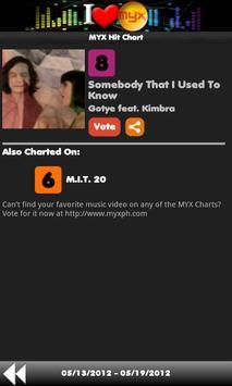 MYX Charts screenshot 3