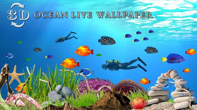 Ocean Fish Live Wallpaper HD Apk Screenshot