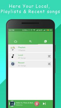 Free Music -Unlimited MP3 Streamer, Free All Songs apk screenshot