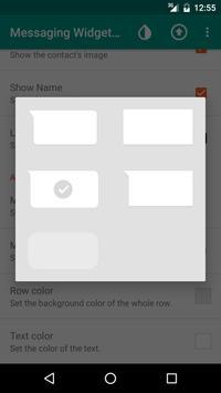 Messaging Widget (Hangouts) apk screenshot