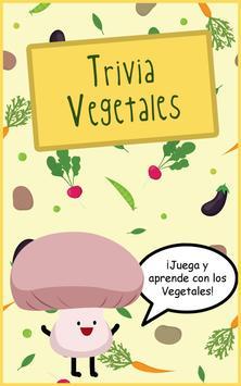 Trivia Vegetales para niños poster