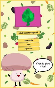 Trivia Vegetales para niños apk screenshot