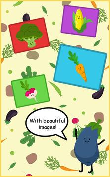 Vegetables Trivia for kids apk screenshot